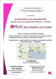 Narbonne - Stage PEAT oct-nov17